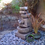 Time to start the fountain up!